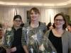 Neue Mitglieder, v. l. Gassmann Sandra, Frutig Irene, Bühler Esther